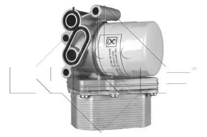 31238 NRF масляный радиатор, двигательное масло